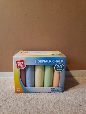Sidewalk cbalk for Sale in North Chesterfield, VA
