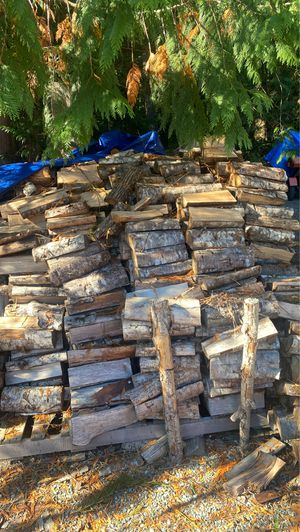 season dried alder fire wood, 75$ a truck load (come to me) for Sale in Gig Harbor, WA