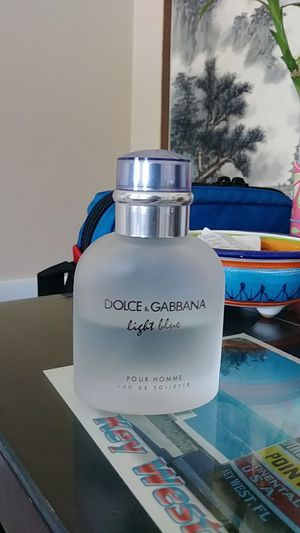 Dolce gabbana light blue perfume for Sale in Gaithersburg, MD