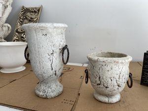 Stone vases for Sale in Bay City, MI