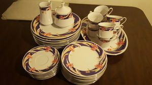 Dishes and cups set (36) pcs for Sale in Buffalo, NY