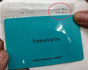 Tiffany Store Credit Card for Sale in Irvine, CA