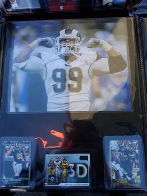 Rams arron donald plaque for Sale in CTY OF CMMRCE, CA