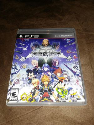 PS3 Kingdom Hearts 2.5 ReMix Game for Sale in Houston, TX