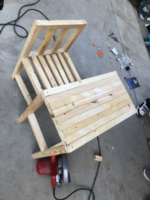 Homemade little desk for kids to work with for Sale in Bakersfield, CA