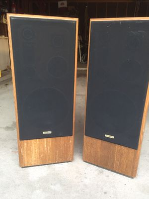 Vintage Onkyo Speakers Fusion AV S-91 for Sale in Houston, TX