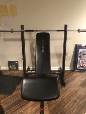 Weider pro Weight set for Sale in Owings Mills, MD