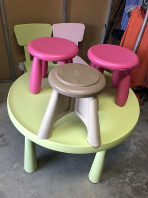 Kids table and chairs for Sale in Carrollton, TX