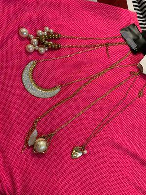 Fashion jewelry necklaces for Sale in Pomona, CA