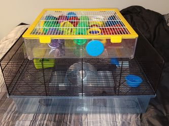 Hamster cage and maze combo for Sale in Cleveland,  OH