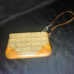 Brown Coach Wristlet for Sale in New York, NY