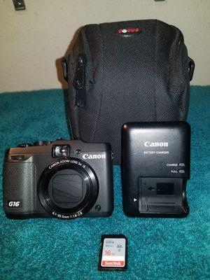 Canon PowerShot G16 Digital camera for Sale in Houston, TX