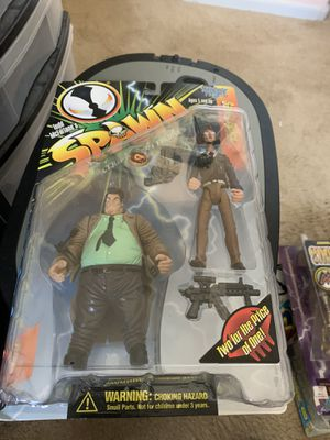 96 Spawn Green Shirt Sam& Twitch Action Figure for Sale in Gilbert, AZ