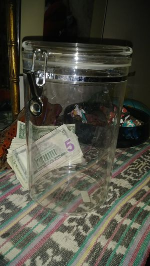 Jumbo Clear Acrylic Airtight Canister with Clamp for Sale in San Diego, CA