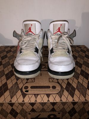 Air Jordan 4 Retro OG White Cements Size 8.5 for Sale in Milpitas, CA