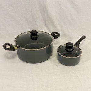 Pan/Pot Cooking Set w/Glass Lids for Sale in Millcreek, UT