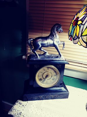 Antique 1893 Waterbury with Belair horse clock cast iron for Sale in Bowling Green, KY