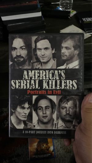 Americas serial killers dvd set for Sale in Bellflower, CA