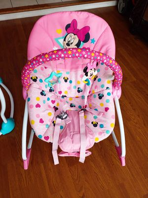 Minnie mouse bouncer seat for Sale in San Jose, CA