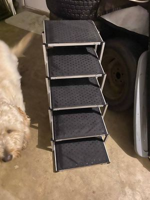 Folding dog stairs for Sale in Milwaukie, OR