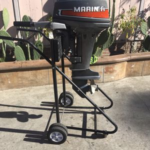 15hp Mariner 2 Stroke Outboard for Sale in San Leandro, CA