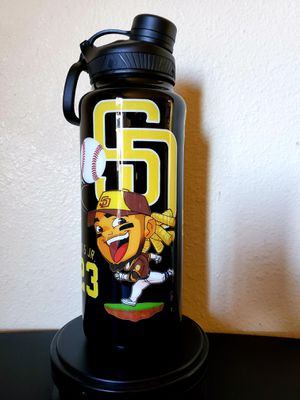 San Diego Padres 40 oz water bottle for Sale in Lakeside, CA