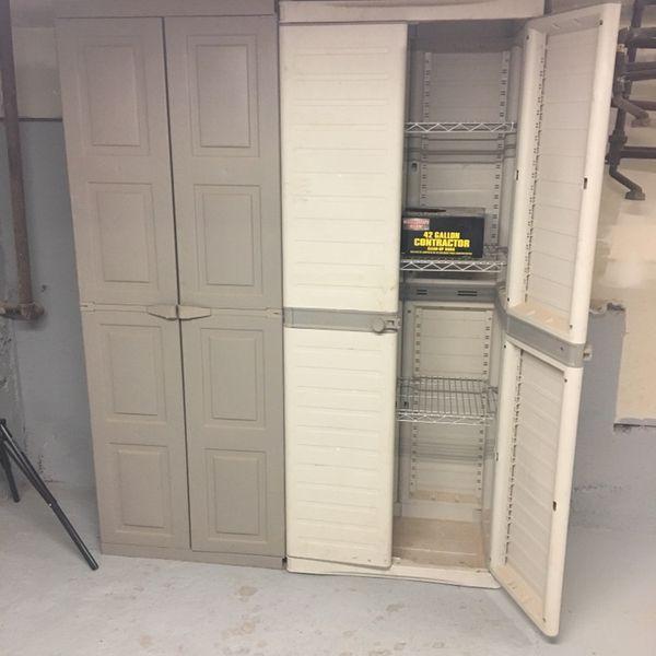 Storage Garage Workshop Shelves Cupboards