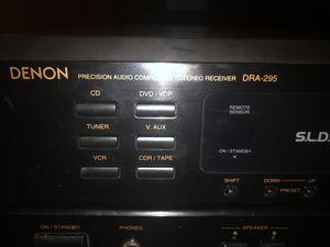 Denon DRA-295 audio receiver for Sale in Arlington, MA