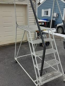 Movable Metal Stairs Make Offer for Sale in Moorestown,  NJ