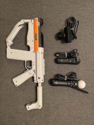 PS3 Move Sharpshooter Bundle for Sale in Jersey City, NJ