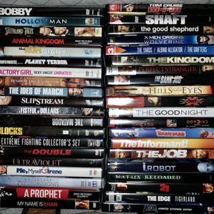 40 DVDs for $40 for Sale in Sammamish, WA