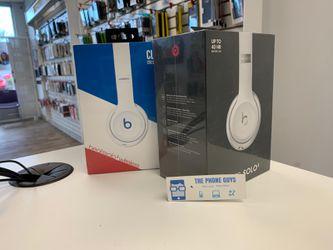 Beats Solo 3 Wireless headset Club White/Satin white for Sale in Everett,  WA
