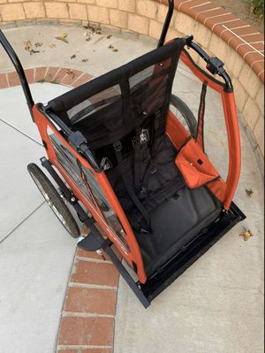 Jogger/bike trailer/baby trailer/stroller/Bicycle- both for $170 or $95 each Tow hitch included/ comes with a third wheel for Sale in Laguna Hills, CA