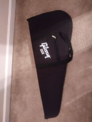 Gibson soft electric guitar bag soft furry like inside liner for Sale in Smyrna, TN