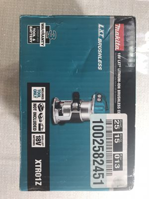 Makita brushless compact router for Sale in Los Angeles, CA
