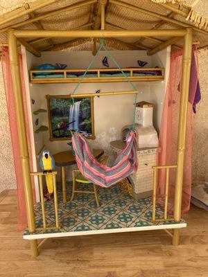 2016 American Girl Doll Lea Rainforest House Furniture Hut for Sale in La Verne, CA