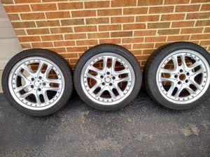 """Three 17"""" Rims and Tires for Sale in Manassas, VA"""