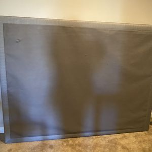 Ashley Furniture Grey Queen Box Spring for Sale in Kennesaw, GA