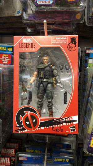 "New Marvel Legends ""Cable"" Nathan Summers 6 Inch Action Figure (Deadpool Movie) Exclusive for Sale in ROWLAND HGHTS, CA"