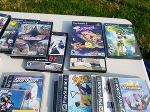 Games and movies for Sale in Fresno, CA