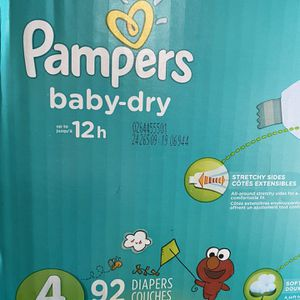 Pampers Size 4 for Sale in Long Beach, CA