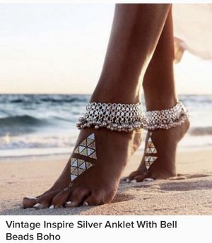 Anklet With Bell Beads for Sale in Vista, CA