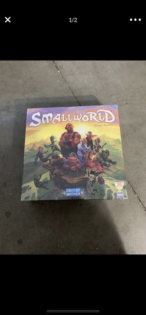 Days Of Wonder Small World Board Game Fantasy Civilization NEW SEALED for Sale in Walnut, CA