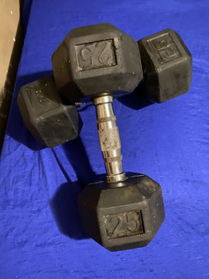 Cap 25lb weights for Sale in Memphis, TN