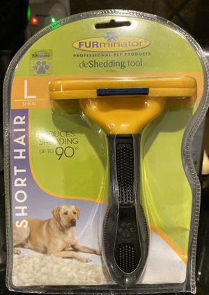 FURminator Deshedding Dog Tool - Large - Short Hair / NEW in Packaging for Sale in Cedar Hill, TX