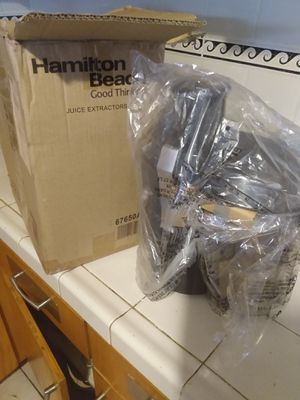Hamilton Beach juice extractor blender for Sale in Long Beach, CA