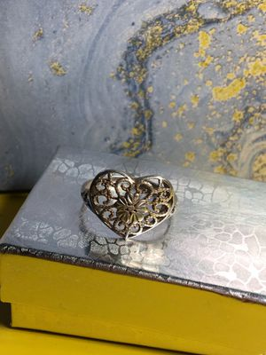 $10/Rose gold heart ring .925 stamped silver(reg. price was $100) for Sale in Lanham, MD