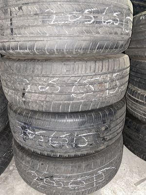 205/65/15 used tire set for 130 for all 4 for Sale in Sacramento, CA