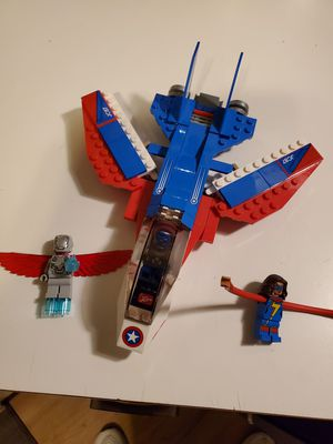 Lego Marvel Super Heroes Captain America Jet Pursuit for Sale in Tigard, OR