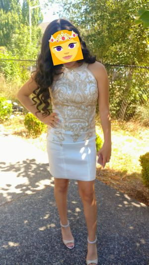 May Queen Couture Gilded Halter Dress for Sale in Beaverton, OR